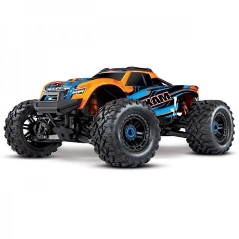 Traxxas Maxx 1/10 Brushless 4WD Monster Truck with TQi 2.4GHz Radio System (Orange) - TRX89076-4ORA