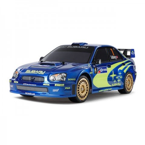 Tamiya 1/10 Subaru Impreza Mexico 2004 TT-01 Type-E Car (Unassembled Kit) - 47372