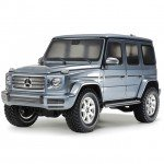 Tamiya Mercedes G500 Limited Edition Painted Gun Metal CC-02 (Unassembled Kit) - 47441
