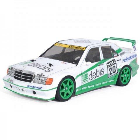 Tamiya Mercedes-Benz 190E E2 ZakSpeed Debis Racing TT-01E RC Car (Unassembled Kit) - 58656