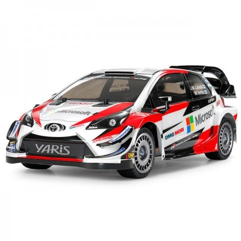 Tamiya 1/10 Toyota Gazoo Racing Yaris WRC TT-02 RC Car (Unassembled Kit) - 58659
