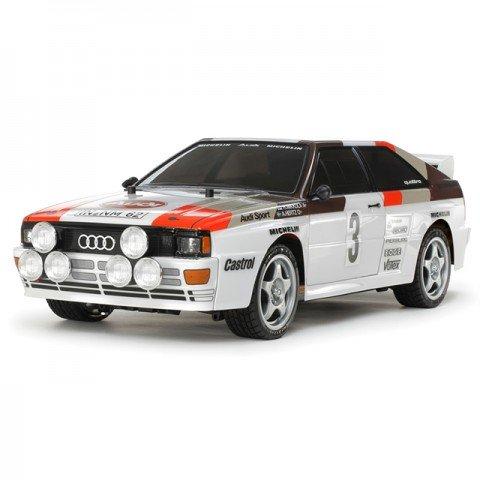 Tamiya 1/10 Audi Quattro A2 Rally TT-02 RC Car (Unassembled Kit) - 58667