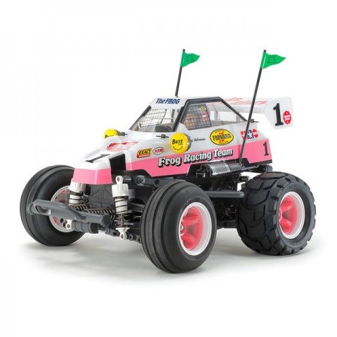 Tamiya 1/10 Comical Frog RC Car WR-02CB (Unassembled Kit) - 58673