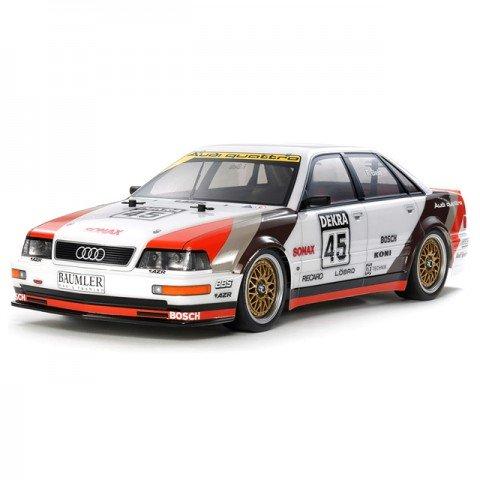 Tamiya 1/10 1991 Audi V8 Touring Car TT-02 (Unassembled Kit) - 58682