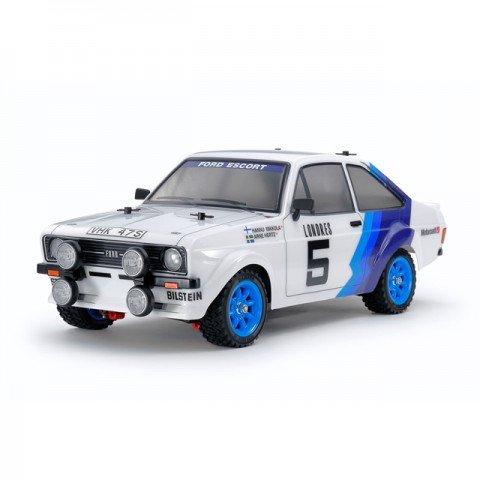 Tamiya Ford Escort MK.II Rally Car MF-01X with Painted Body (Unassembled Kit) - 58687