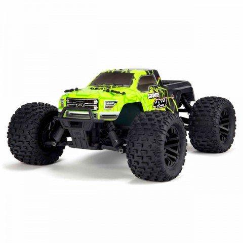 Arrma 1/10 Granite Mega 550 Brushed 4WD Monster Truck (Green/Black) - ARA102714IT1