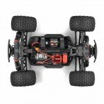 Arrma 1/10 Granite Mega 550 Brushed 4WD Monster Truck (Red/Black) - ARA102714IT2