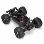 Arrma 1/10 Granite 3S BLX 4WD Brushless Monster Truck with Spektrum Transmitter (Red/Blue) - ARA102720T2