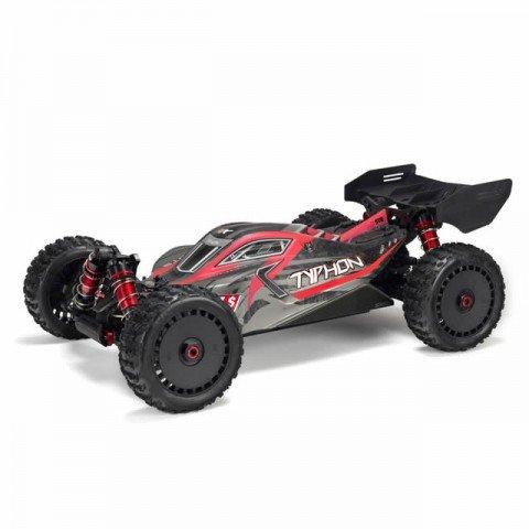 Arrma Typhon 6S BLX V4 Brushless 1/8 4WD Buggy with STX2 Radio System (Red/Black) - ARA106046