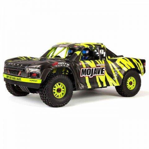 Arrma Mojave 6S BLX Brushless 1/7 4WD Desert Racer Truck (Black/Green) - ARA106058T1