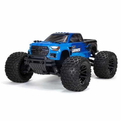 Arrma 1/10 Granite 4x4 V3 Mega 550 Brushed Monster Truck RTR (Blue) - ARA4202V3IT1
