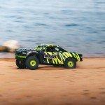 Arrma Mojave V2 6S BLX Brushless 1/7 4WD Desert Racer (Black/Green) - ARA7604V2T1
