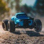 Arrma Notorious V5 6S BLX Brushless 1/8 Monster Stunt Truck (Blue) - ARA8611V5T2