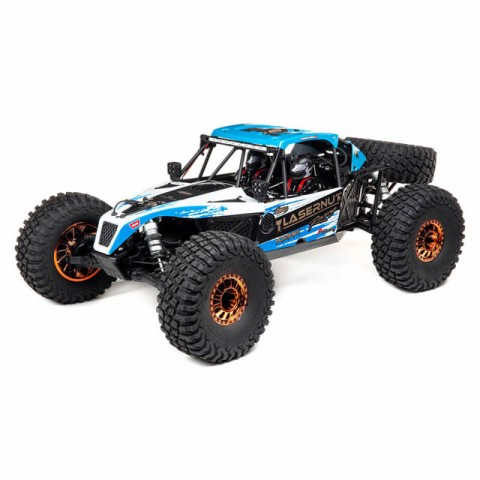 Losi Lasernut U4 1/10 4WD Brushless Rock Racer with 2.4GHz Radio and Smart ESC (Blue) - LOS03028T1