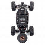 Losi Lasernut U4 1/10 4WD Brushless Rock Racer with 2.4GHz Radio and Smart ESC (Black) - LOS03028T2