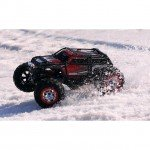 Traxxas Summit 4WD Monster Truck with TQi 2.4GHz Radio System (Red) - TRX56076-4RED