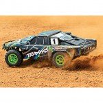 Traxxas Slash 4X4 4WD RTR Brushed Short Course Truck with TQ 2.4GHz Radio System (Green) - TRX68054-1G