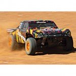 Traxxas Slash 4X4 4WD RTR Brushed Short Course Truck with TQ 2.4GHz Radio System (Orange) - TRX68054-1O