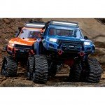 Traxxas TRX-4 1/10 Scale Trail Rock Crawler with All-Terrain Traxx and FREE Wheel Set (Orange) - TRX82034-4ORA