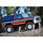 Traxxas TRX-4 1/10 Trail Crawler Truck with Ford Bronco Ranger XLT Body (Orange) - TRX82046-4O
