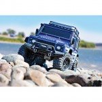 Traxxas TRX-4 1/10 Land Rover Defender Rock Crawler with TQi Radio System (Blue) - TRX82056-4BL