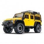 Traxxas TRX-4 1/10 Land Rover Defender Rock Crawler with TQi Radio System (Yellow) - TRX82056-4Y