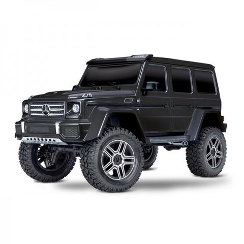 Traxxas 1/10 TRX-4 Mercedes G500 4x4 Crawler with TQi Radio System (Black) - TRX82096-4BLK
