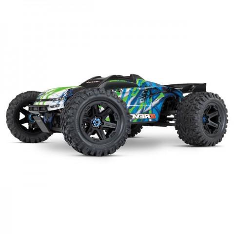 Traxxas E-Revo VXL 2.0 4WD Brushless Electric Monster Truck (Green) - TRX86086-4G