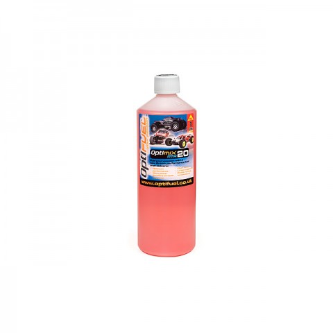Optifuel Optimix RTR 20% Nitro Car Fuel 1 Litre - OP1004