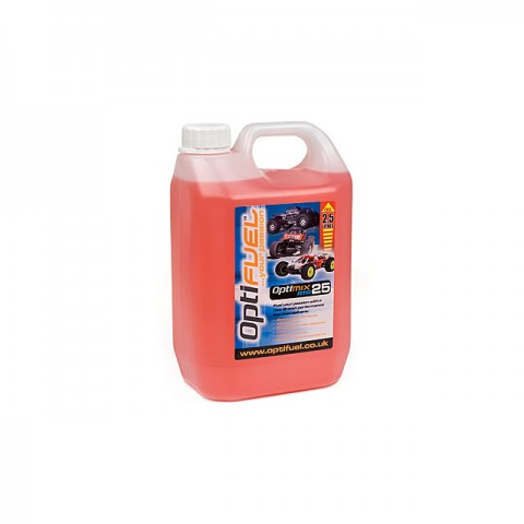 Optifuel Optimix RTR 25% Nitro Car Fuel 2.5 Litres - OP1008