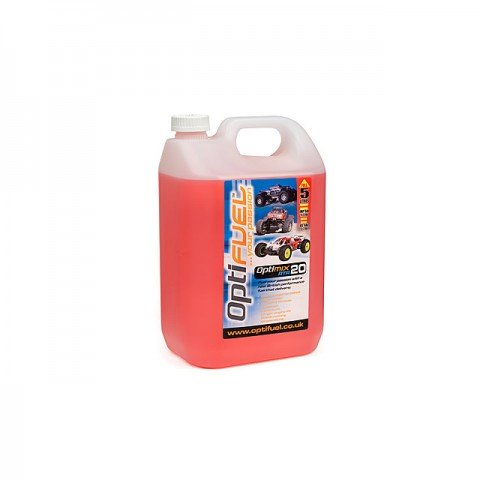 Optifuel Optimix RTR 20% Nitro Car Fuel 5 Litres - OP1006