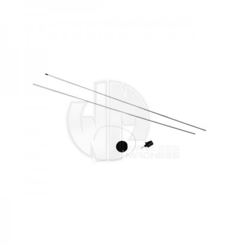 "Estes 1/8"" Two-Piece Replacement Launch Rod for Estes Rockets - ES2243"