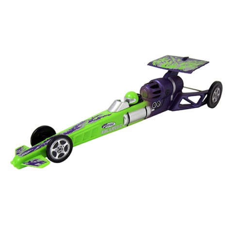 Estes 1/24th Blurzz Rocket Powered Dragster Car with 90ft Race Track (Green Mantis) - ES2503