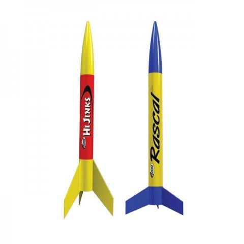 Estes Rascal and Hi Jinks Rocket Model Kits with Launch Set - ES1499
