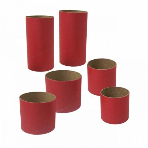 Estes BT50 and BT60 Model Rocket Body Tube Couplers (Pack of 6) - ES3177