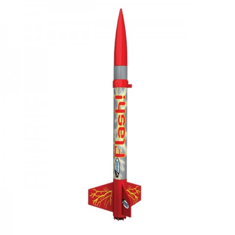Estes E2X Flash Rocket Model Kit with Launch Set - ES1478