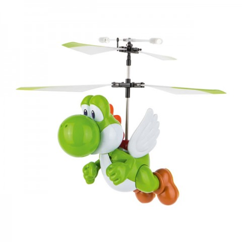 Carrera RC Mario Yoshi Flying Cape Helicopter with 2.4Ghz Radio System - CA501033
