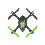 Hubsan X4 LED RTF Mini Quad Copter with 2MP HD Camera Recording (Black/Green) - H107CHD-BG
