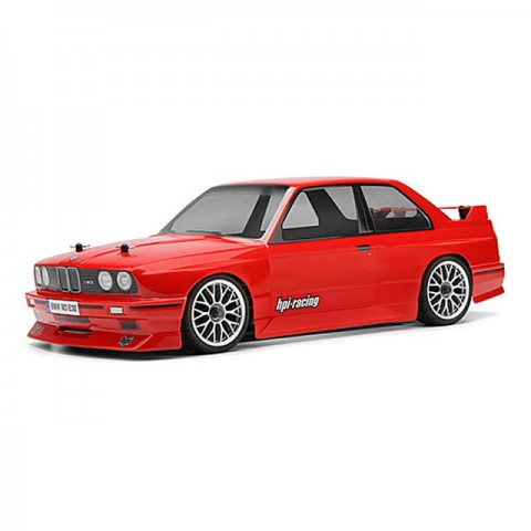 HPI BMW M3 E30 1/10 Clear Body Shell 200mm with Decal Sheet - 17540