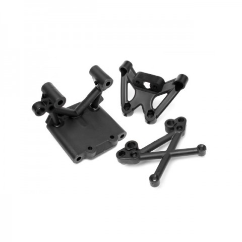 HPI Baja Front Bulk Head Set - 85418