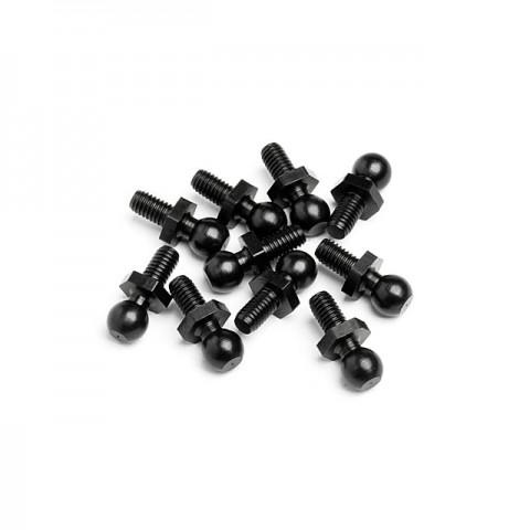 HPI Ball Stud 4.8x12mm (10 Studs) - 86896