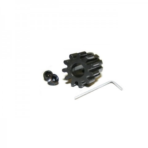 Answer RC 13T Pinion Gear 5mm Bore Mod 1 with Large Grub Screw and Allen Key - ANSCBE013
