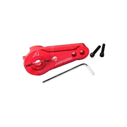 Answer RC 23T Clamping Servo Horn for Sanwa, KO and Airtronics Servos (Red) - ANSSH0023-R