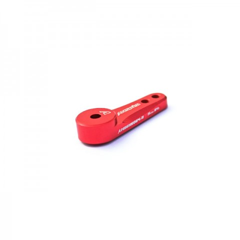 Answer RC 23T Straight Servo Horn for Sanwa, KO and Airtronics Servos (Red) - ANSSHS023-R