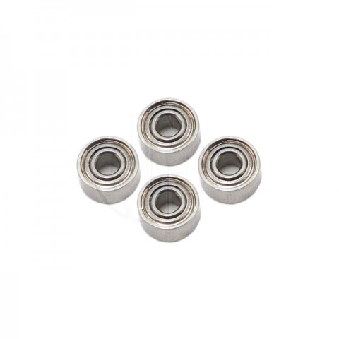 Blade 450 3D Washout Link Bearing 1.5x4x2mm (4 Bearings) - BLH1607