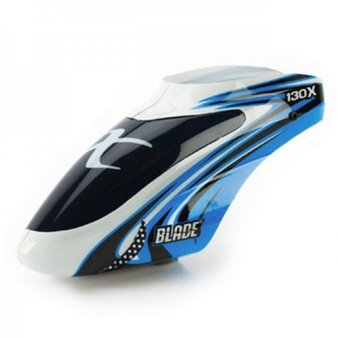 Blade 130X Optional Canopy (Blue/White) - BLH3722A