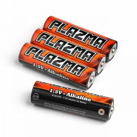 HPI Plazma 1.5V Alkaline AA Battery (4Pcs) - 101939