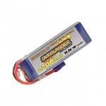 Overlander Supersport LiPo Battery 2200mAh 3S 11.1v 35C with EC3 Connector Fitted - OL-2647