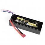 Black Magic 5000mah 11.1V 3S 35C Hardcase LiPo Battery with Deans Connector - BM35-5003T