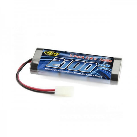 Carson 7.2V 2100mAh NiMh Battery Pack with Tamiya Connector - C608054